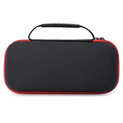 DealMux-1 Estuche de transporte portátil Bolsa de almacenamiento Estuche de transporte Sistema de interruptor Cubierta protectora Eva para consola de juegos Nintendo Switch (Rojo)