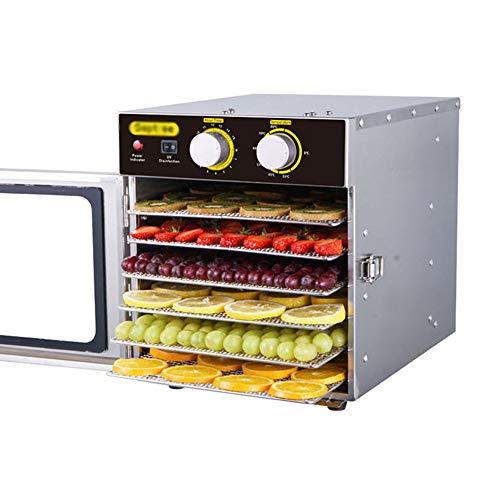 Buy Cheap CJSWT Hauture Food Dehydrator Machine, 6 Drying Racks, Multi-Tier Food Preserver,Temperatu...