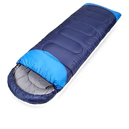 Tienda de campaña Gran tienda de camping 3-4 / 5-8 Persona Dual Capa Impermeable Pop Up Open Anti UV Tiendas turísticas para al aire libre Senderismo Playa Viajes Camping ( Color : Navy Sleeping Bag )