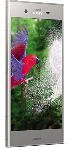 Sony Xperia XZ1 Smartphone (13,2 cm (5,2 Zoll) Triluminos Bildschirm, 19MP Kamera, 64GB Speicher, Android) Silber - Deutsche Version