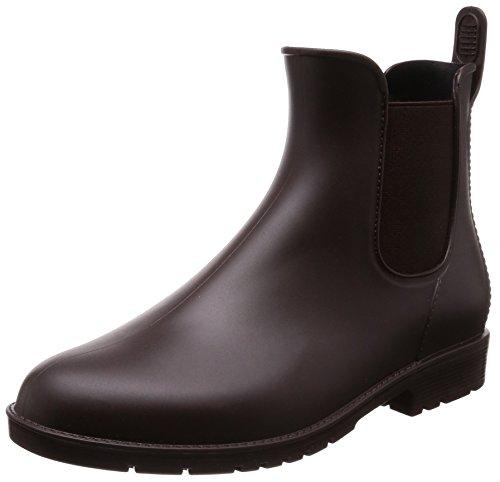 [マーレマーレデイリーマーケット] ブーツ レインサイドゴアショートブーツ SUN71506 ダークブラウン 24.0~24.5 cm