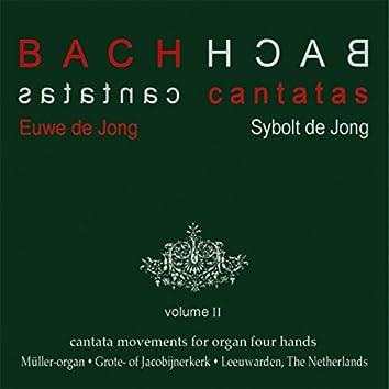 Bach Cantatas, Vol. 2: Cantata Movements for Organ Four Hands