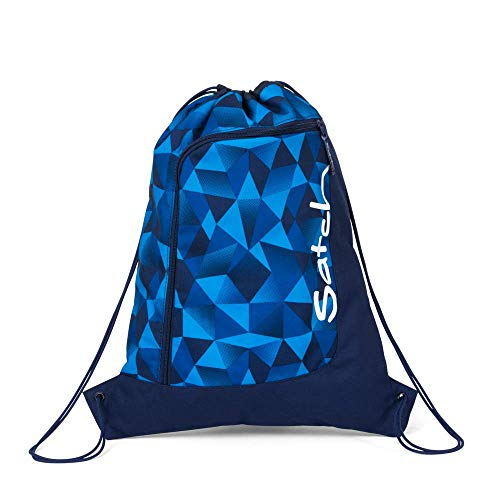 Satch Sportbeutel Blue Crush, 12l, Blau
