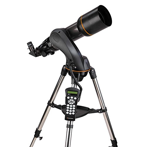 Celestron NexStar 102 SLT telescopio con Control de Mano Totalmente automatizado + AstroMaster Kit de Accesorios