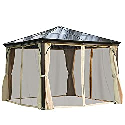 This is a hardtop gazebo