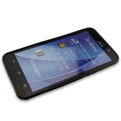 caseroxx TPU-Hülle für Asus ZenFone 2 ZE551ML, Handy Hülle Tasche (TPU-Hülle in schwarz)