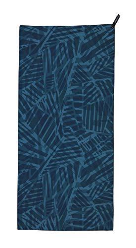PackTowl Personal Handtuch, schnell trocknend, Farbe:Blue Botanic, Größe:Hand