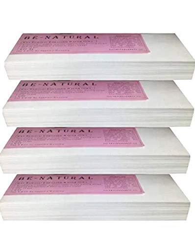 F Falkiya Waxing Strips for Hair Removal Plain Disposable White Color Wax Strips Easy & Safe Wax Strips Paper Non-woven Body Hair Removal for Men and Women (280 Pieces)