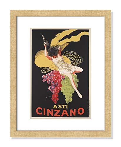 Casa Fine Arts Asti Cinzano French Vintage Poster Wall Art Archival Print, 14