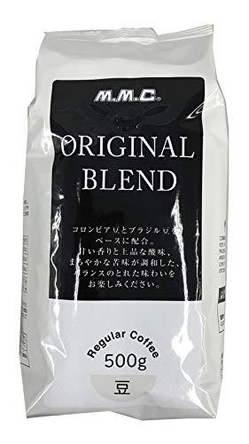 三本コーヒー オリジナルブレンド(豆) 500g ×2個 レギュラー(粉)
