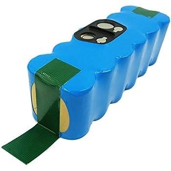 Maxima Batería Azul Long Life +++4500mah Compatible Roomba 774 775 776 776p 780 782 782e 785 786 786p 800 850 860 865 866 870 871 875 876: Amazon.es: Hogar
