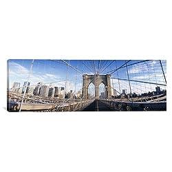 iCanvasART Brooklyn Bridge