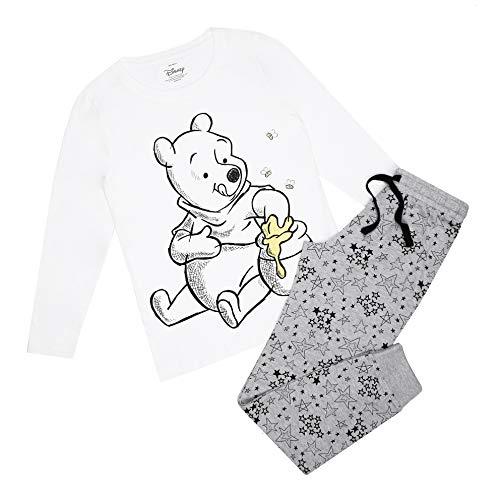 Disney Winnie The Pooh Honey & Bees Pyjama Set Juego de Pijama, Multicoloured, 10 Regular para Mujer