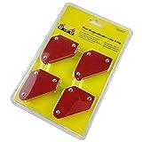 4 PC/set Mini posicionador de soldadura triangular 9Lb Herramientas magnéticas de localización de soldadura de ángulo fijo sin accesorios de soldadura de interruptor