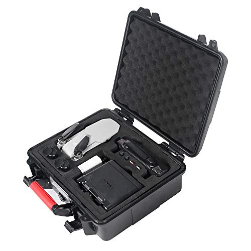 Smatree Waterproof Hard Case Compatible with DJI Mavic Mini & Battery Charging Station/Charging Hub (Drone and Accessories are Not Included)