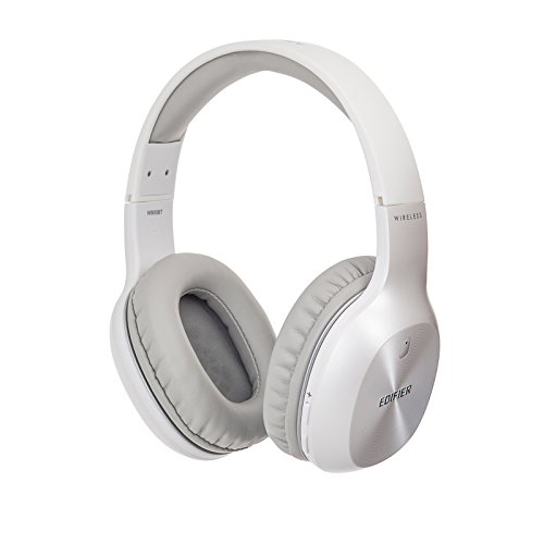 Edifier W800BT Bluetooth Headphones - Over-the-ear Wireless Headphone, 35 Hours Playback, Lightweight, Fast charging - White