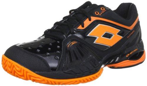 Lotto Raptor Ultra IV Clay Black/Orange Uomo 40 EU
