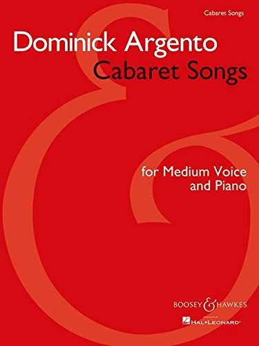 Cabaret Songs: Medium Voice and Piano