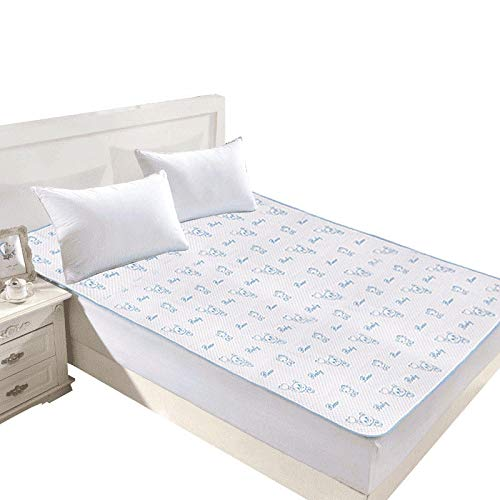 Pañales de algodón portátil de dibujos animados para bebés, cambiador para recién nacidos, colchón impermeable lavable, sábana de cama, cubierta de almohadilla de cambio infantil