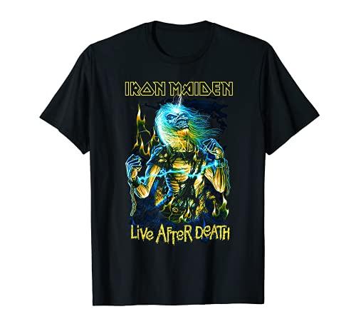 Iron Maiden - Live After Death Maglietta
