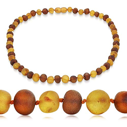 Mdlucz Natural Amber Chain Necklace REAL BALTIC Amber (50 Cm) Birthday Gift, Exquisite Bracelet