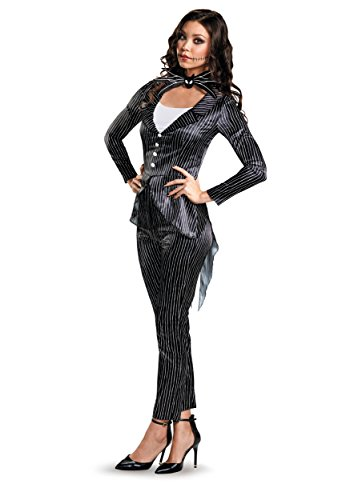 Women's Jack Skellington Deluxe Costume X-Large Black
