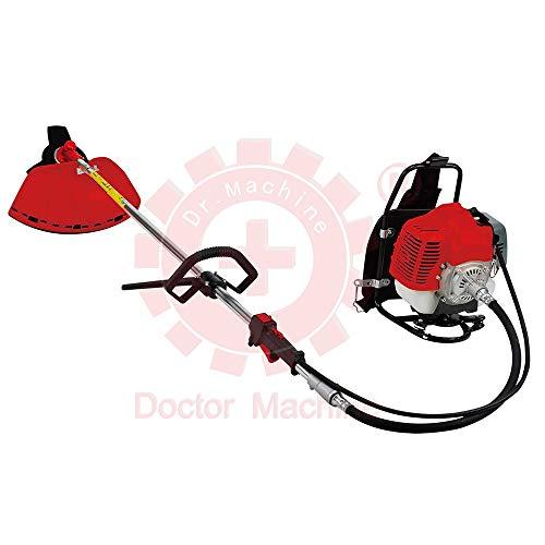 Doctor Machine Dm0005 Desbrozadora a Mochila 43 CC – 1.47 kW – 2.3 HP – Rotación 180 ° – Potente y ergonómico