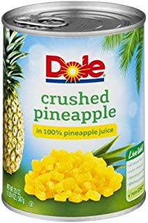 Crushed Pineapple In 100% Pineapple Juice (Pack of 4)