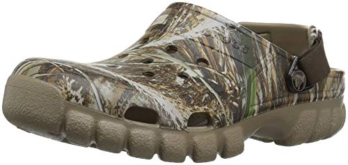 Crocs Unisex Adult Offroad Sport Realtree Max-5 II Clog, chocolate/khaki, 13 US Women / 11 US Men