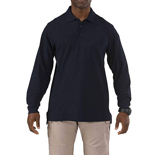 5.11 T-Shirt à Manches Longues pour Homme XL Bleu Marine