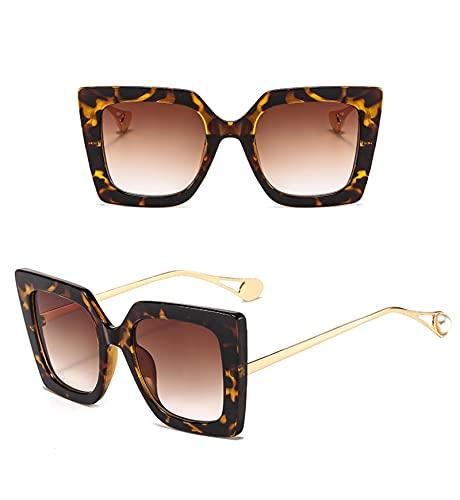 Gafas de Sol Sunglasses Gafas De Sol Cuadradas De Gran Tamaño Nueva Tendencia Street Shot Gafas De Sol Hombres Mujeres Moda De Lujo Gafas De Sol Gafas De Sol Gafas De Sol
