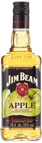 Jim Beam Apple - Bourbon Whiskey mit Apfel-Likör, erfrischender und fruchtiger Geschmack, 32,5 % Vol, 1 x 0,7l