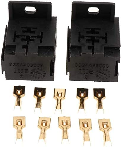 Max 88% OFF half LanGuShi DLB0118 2X Relay Base Holder 10 Suitable + - Terminals