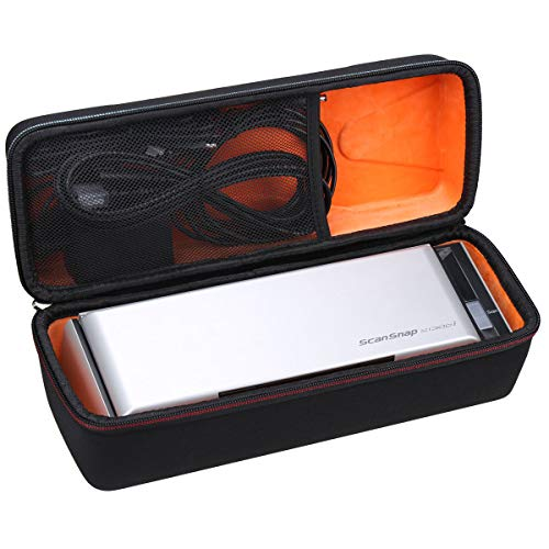 Mchoi Hard Portable Case Compatible with Fujitsu ScanSnap S1300i Portable Color Duplex Document Scanner(Case Only)