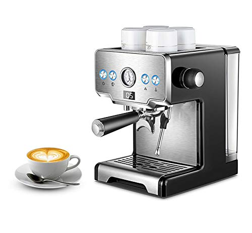 Fantastic Prices! JINRU Coffee Maker Machine Stainless Steel Coffee Machine 15 Bars Semi-Automatic C...