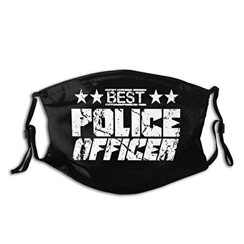 Mundschutz Windproof Mouth Cover Swat Policeman Police Officer Cop - Teenagers and Adults Unisex Defense Adjustable Earloops Washable Reusable Mouth-Muffle