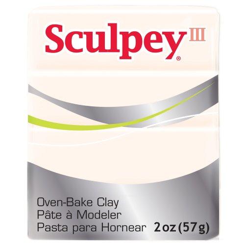 Sculpey Art Clay III, 2-Ounce, Translucent