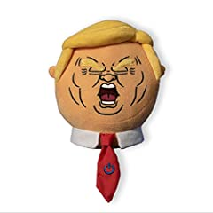MAKE AMERICA LAUGH AGAIN: Love him or hate him, you can't deny the outrageous personality of our 45th President. This interactive plush novelty toy is the conversation starter America is missing. NEVER AT A LOSS FOR WORDS: Much like 45 himself, Talki...