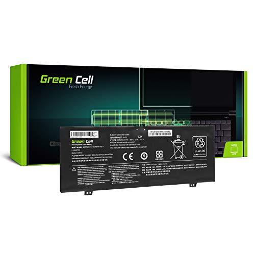 Green Cell® Standard Serie L15L4PC0 L15M4PC0 L15M6PC0 L15S4PC0 Batería para Lenovo V730 V730-13 Ideapad 710s Plus 710s-13IKB 710s-13ISK Ordenador (4 Celdas 5200mAh 7.6V Negro)