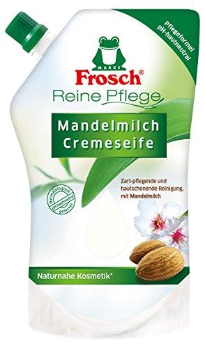 Frosch Reine Pflege Mandelmilch Cremeseife, 6er Pack(6 x 500 ml)