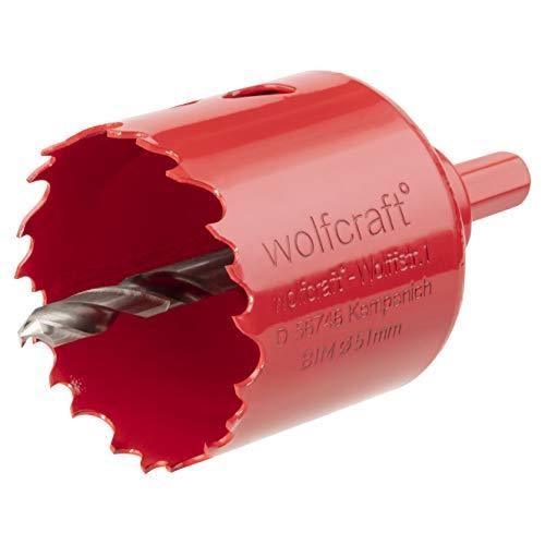 Wolfcraft 5471000 Lochsäge, rot, ø 51 mm