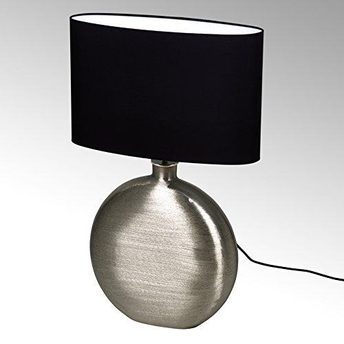 Botero Tischlampe Alu vern. m/Schirm schwarz H68