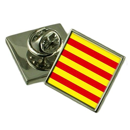 Select Gifts Cataluña insignia de solapa cuadro personalizado grabado