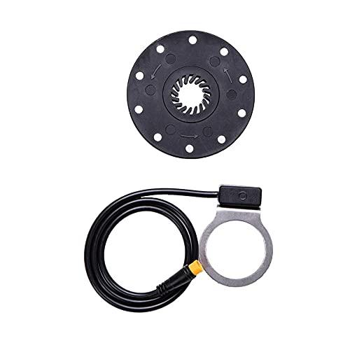 meilen:weit   Pedalsensor BZ-10, Waterproof, PAS Sensor, PAS Systemassistent, E-Bike, Elektro Fahrrad, Pedelec, 24V/36V/48V