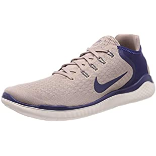 Nike Men's Free Rn 2018 Competition Running Shoes, Multicolour (Diffused Taupe/Blue Void-Guava Ice 200), 12 UK:Interoot
