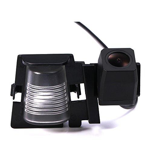 Navinio Rückfahrkamera wasserdicht Nachtsicht Auto Rückansicht Kamera Einparkhilfe Rückfahrsystem für Jeep Wrangler Rubicon Sahara Unlimited Sahara (Starlight Super Pro Rückfahrkamera)