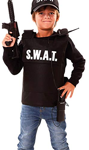 Disfraz de Agente S.W.A.T. para nio