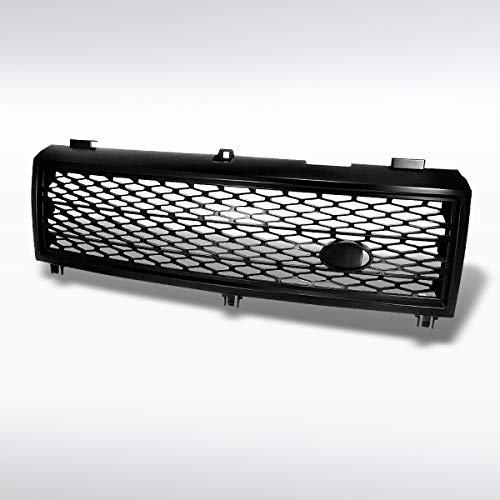 Autozensation For Land Range Rover L322 Supercharged Style Black Mesh Grill