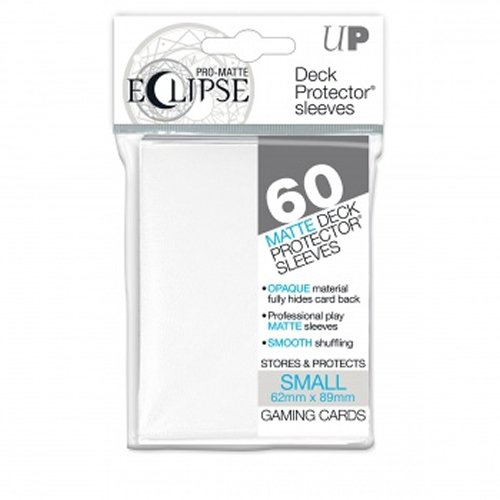 Ultra Pro Pro-Matte Eclipse Small White (60...