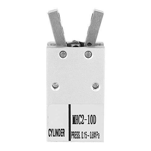 Pneumatische cilinder MHC2-10D / 16D 20 mm diameter breedte parallelle tang banden cilinder banden (MHC2-10D)